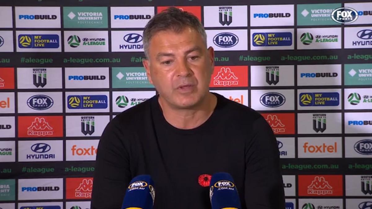 Rudan: It is nice to win at home | Press Conference | Hyundai A-League