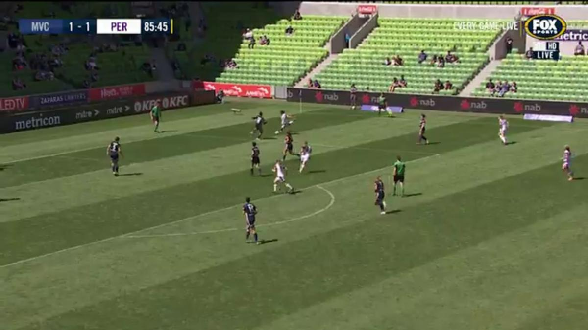 Full-time highlights: Perth Glory v Melbourne Victory