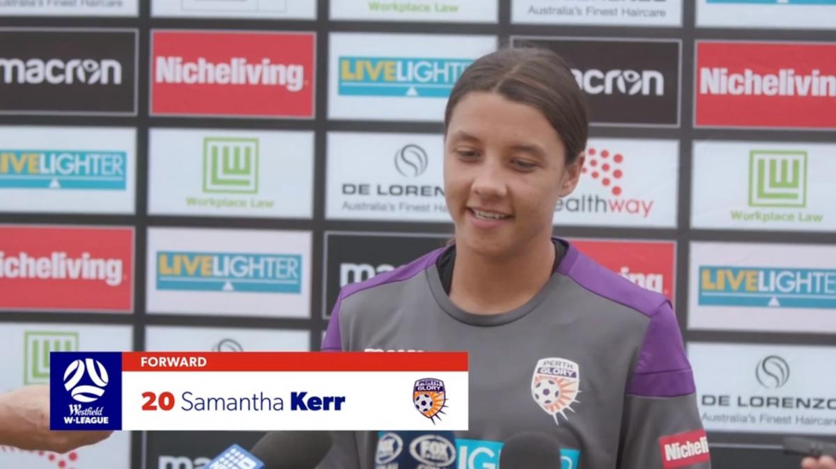 Presser: Sam Kerr - Perth Glory