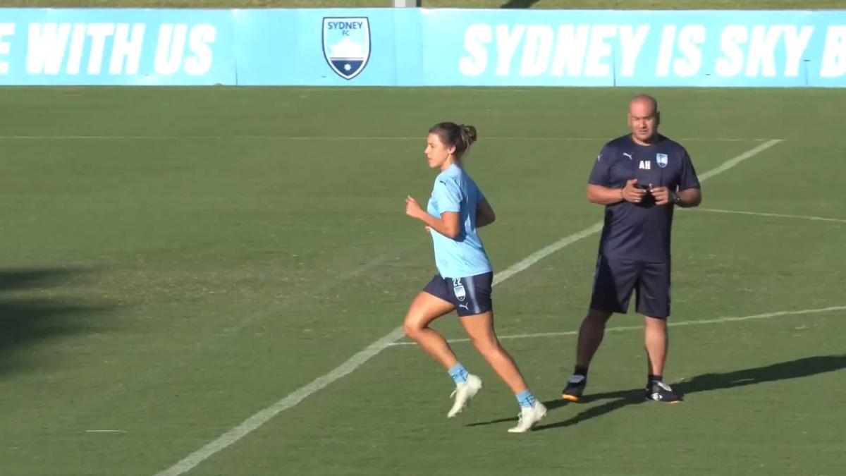 Sydney FC final training before Grand Final