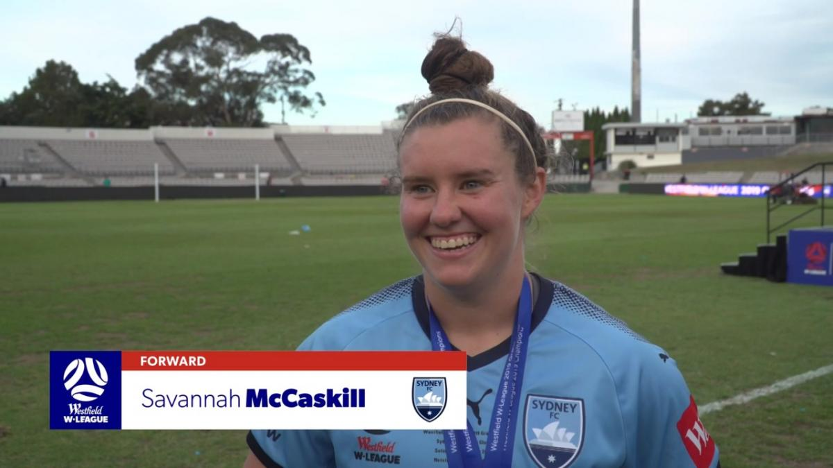 One-on-one: Savannah McCaskill - Sydney FC