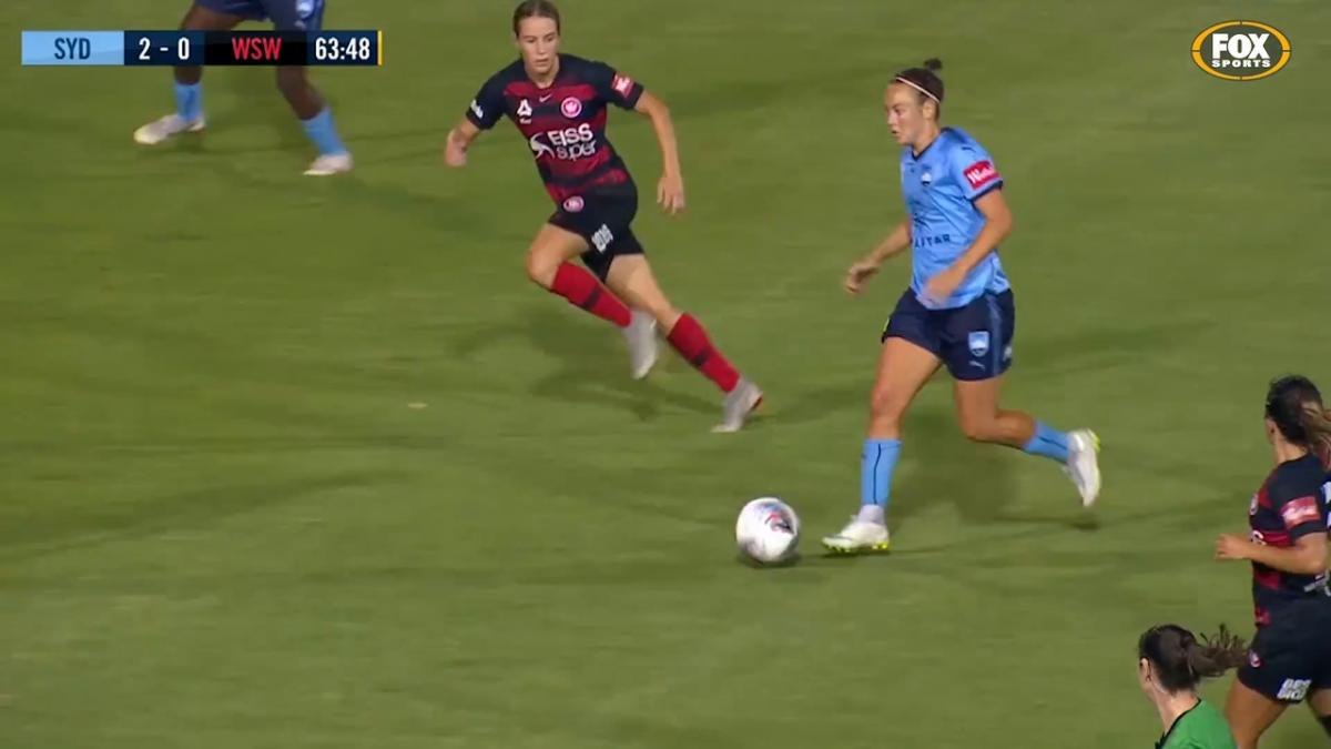 Top Goals of the Westfield W-League Season: Caitlin Foord - Sydney FC