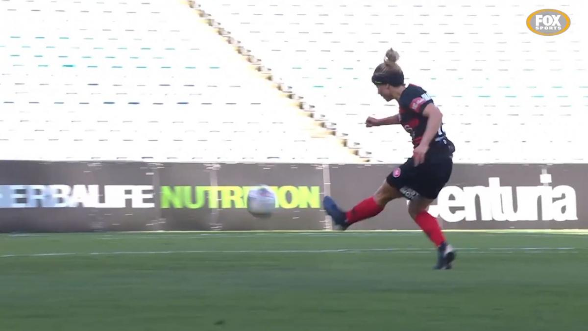 Top Goals of the Westfield W-League Season: Georgia Yoeman Dale - Western Sydney Wanderers