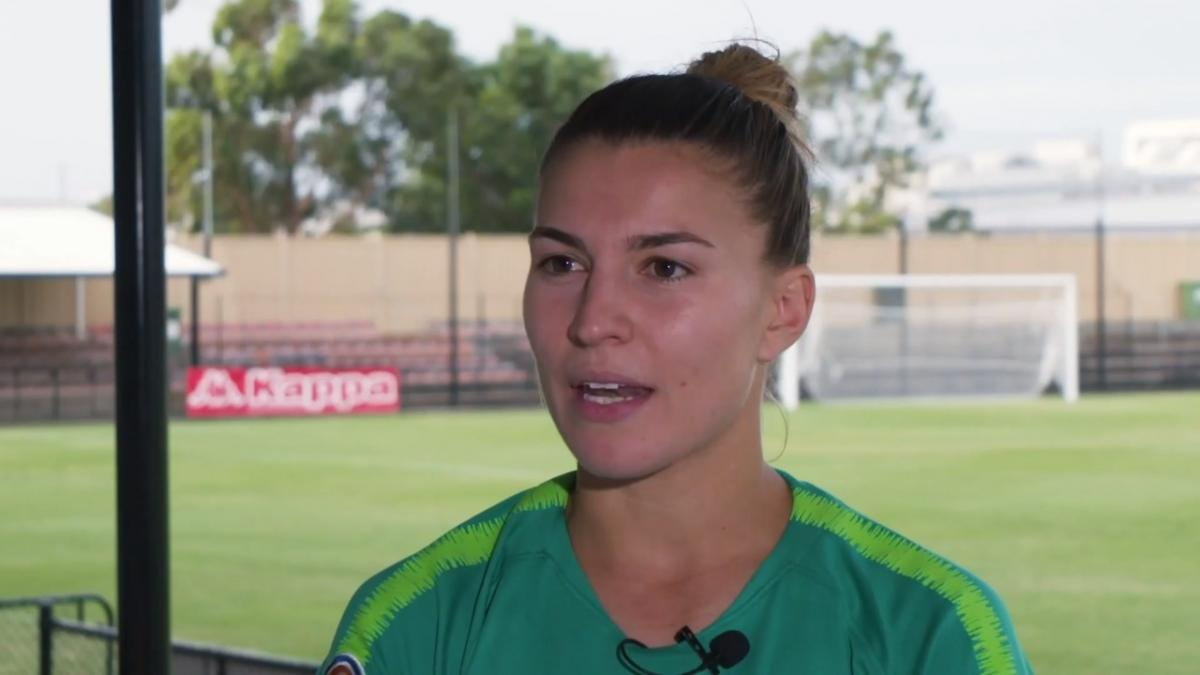 One on one: Steph Catley