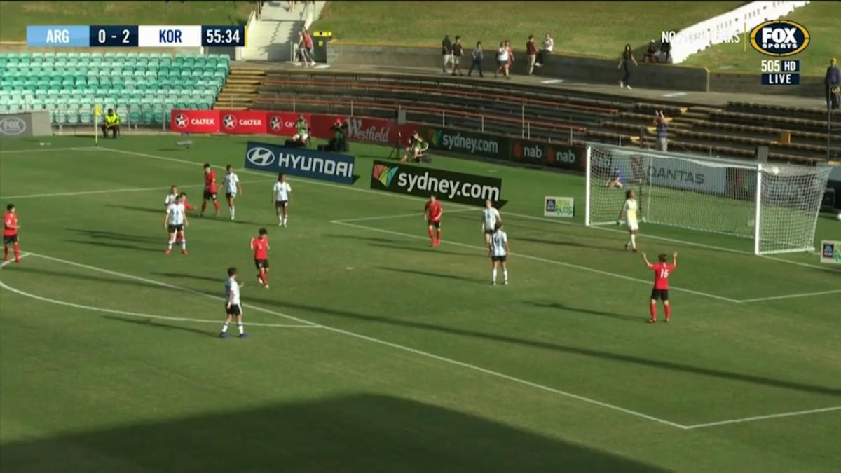 Third goal's a charm for Korea