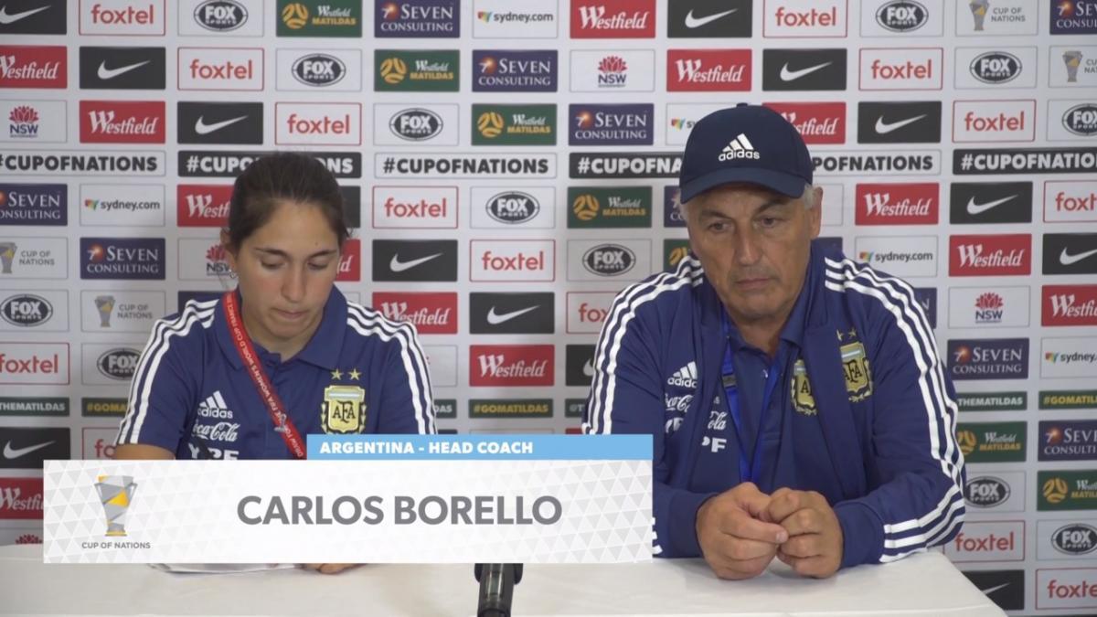 Press Conference: Carlos Borrello - Argentina