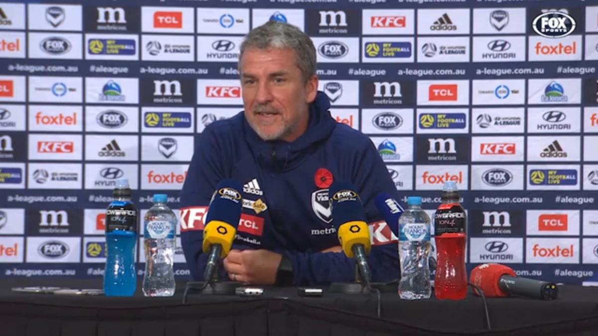 Kurz: The quality is coming | Press Conference | Hyundai A-League
