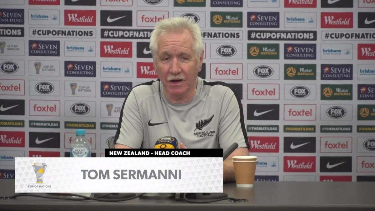 Press Conference: Tom Sermanni - New Zealand