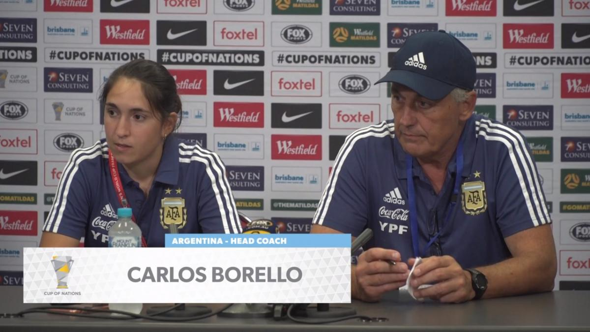 Press Conference: Carlos Borrello - Argentina
