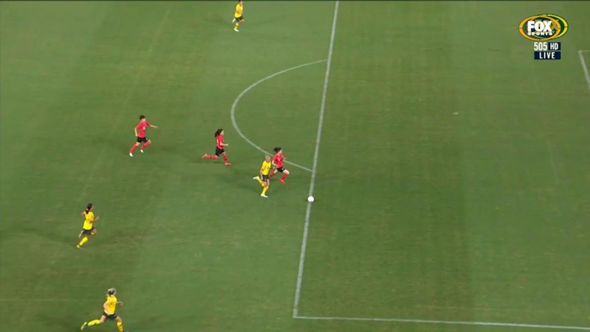 Lisa De Vanna scored Matildas' second