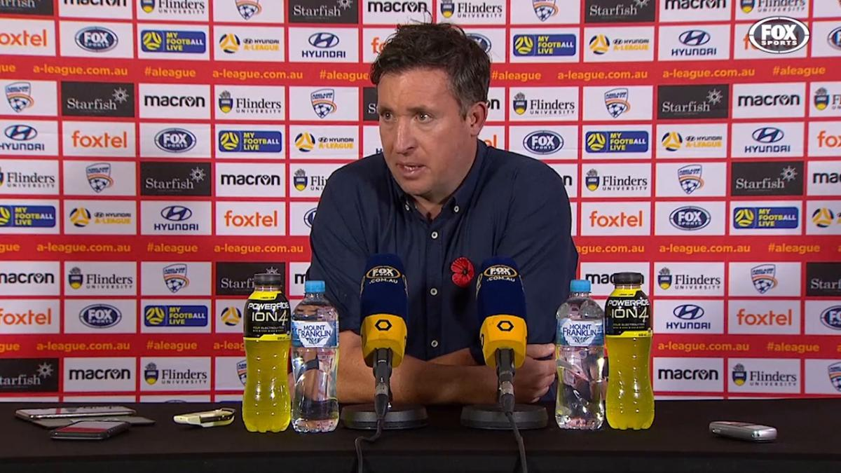 Fowler: Our defence is better than last season | Press Conference | Hyundai A-League