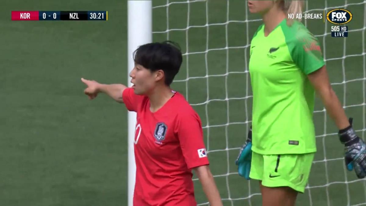 Korea go close against New Zealand