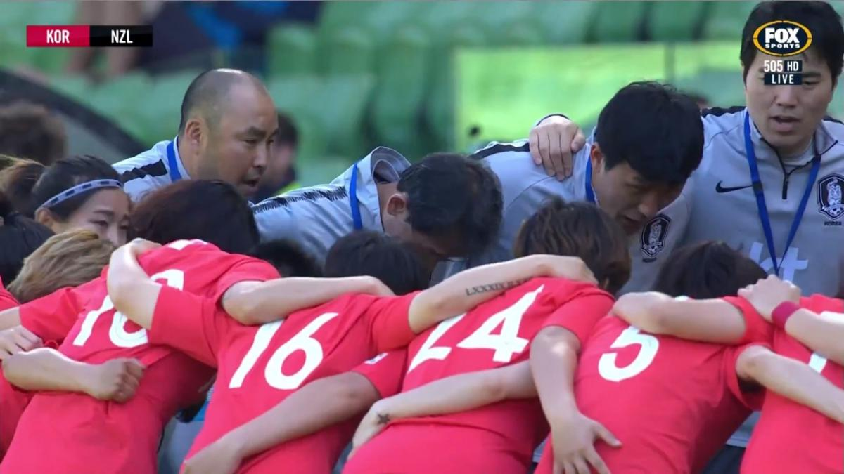 Full-time highlights: Korea Republic v New Zealand