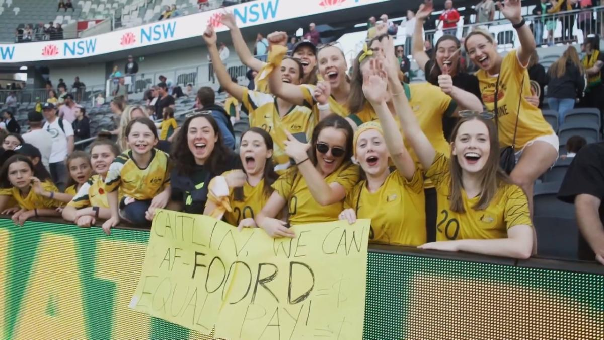 A record-breaking day: re-live Westfield Matildas v Chile with the fans