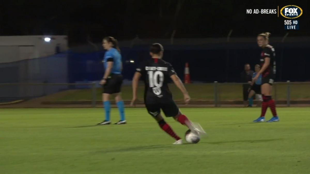 GOAL:  Cooney-Cross delivers knockout punch late for Wanderers