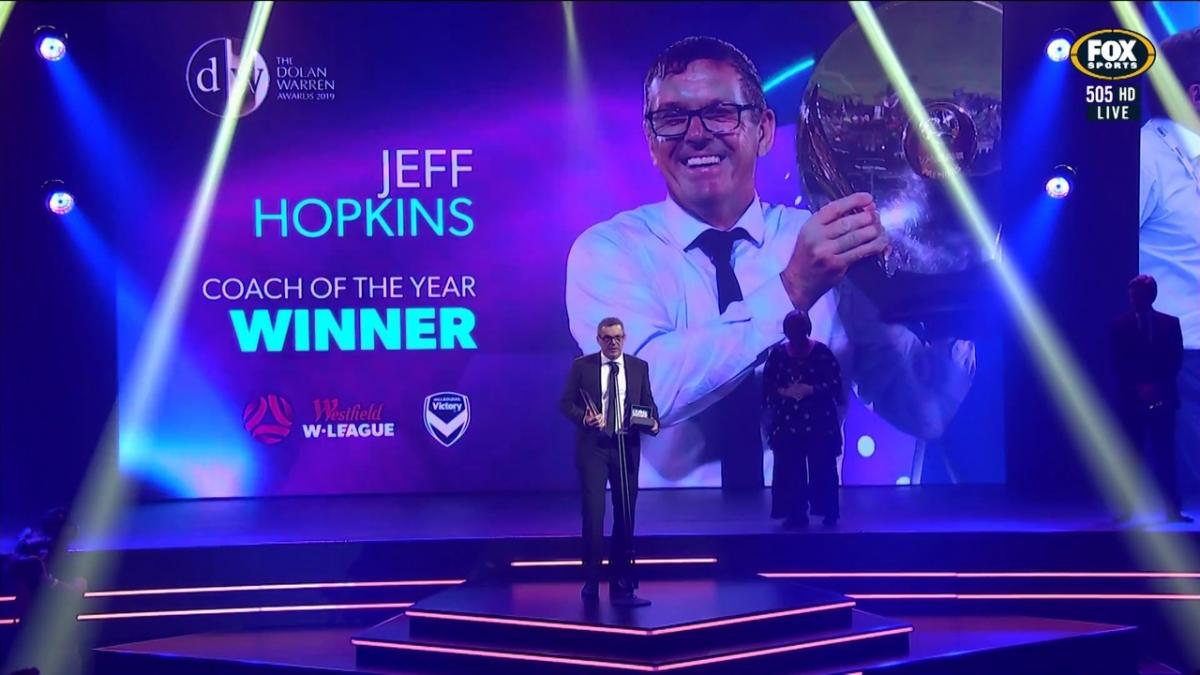 Westfield W-League Coach of the Year: Jeff Hopkins - Melbourne Victory