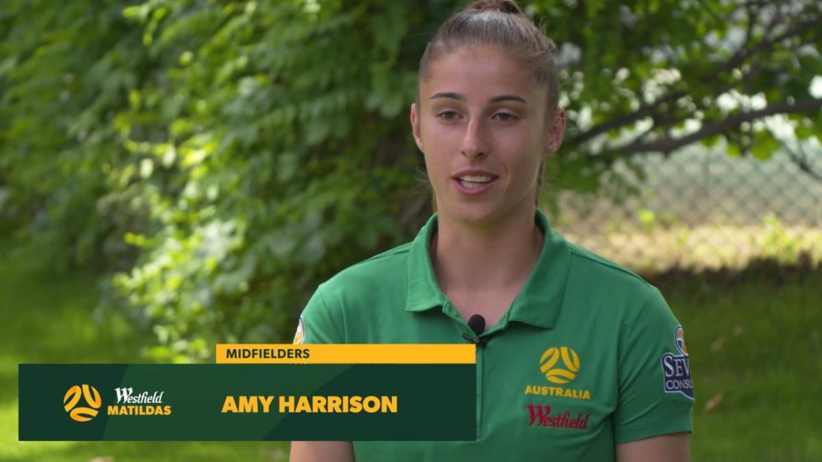 """Amy Harrison: """"Still gotta pinch myself"""""""