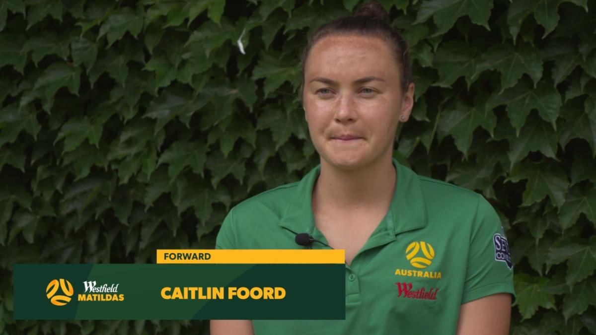 "Caitlin Foord: ""I've been on a roll"""