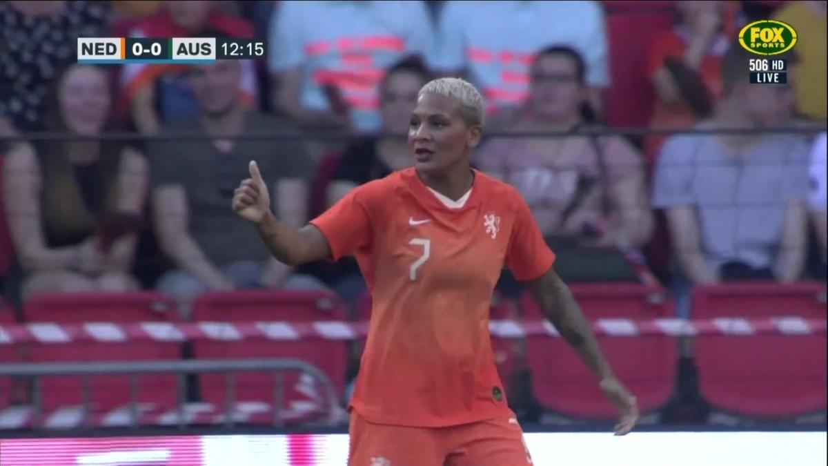 The Netherlands go close against the Matildas