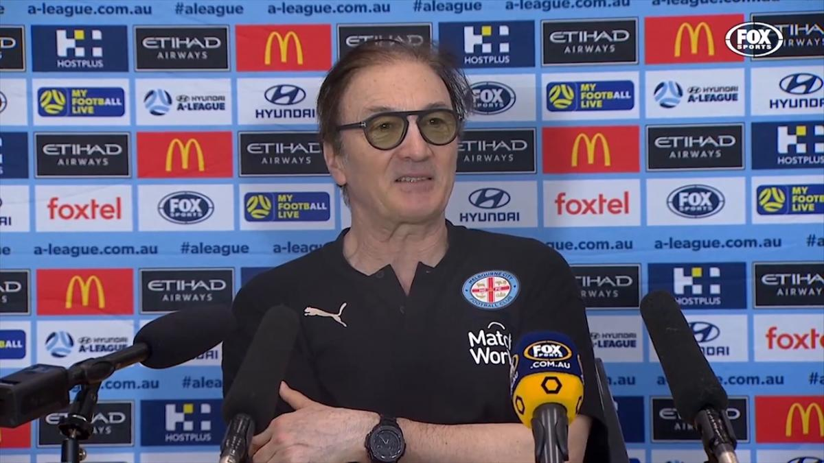 Mombaerts: Lack of mental toughness let us down   Press Conference   Hyundai A-League