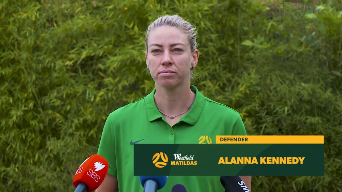 Alanna Kennedy: Keep believing in us