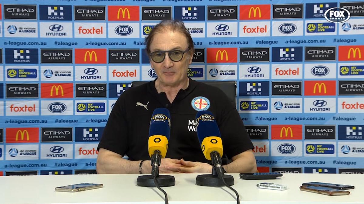 Mombaerts: Jamie doesn't need too many chanes | Press Conference | Hyundai A-League