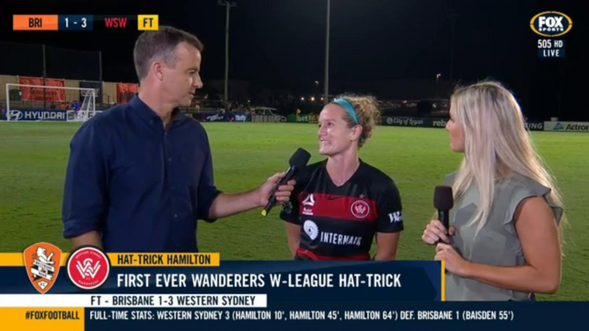 Hamilton finding it easy to fit in | Interview | Westfield W- League