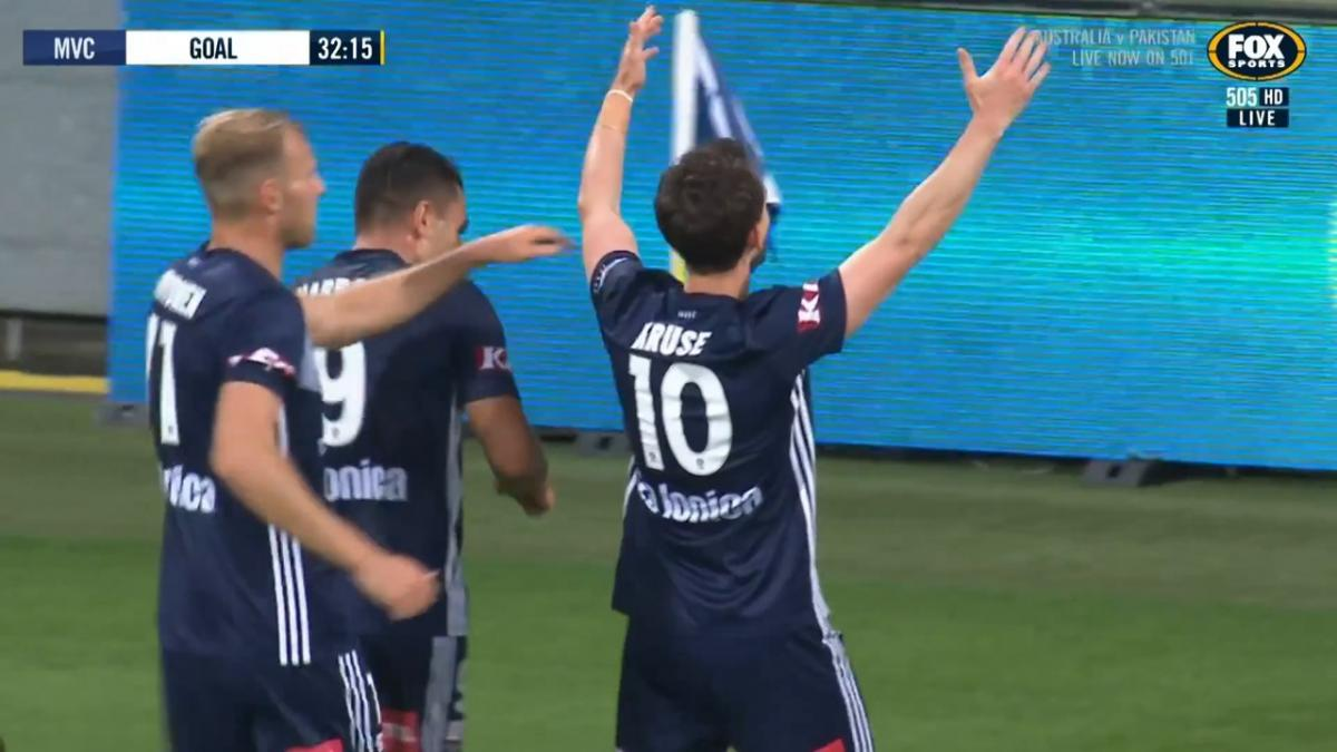 GOAL: Kruse - Experience talks as Melbourne Victory turn it on