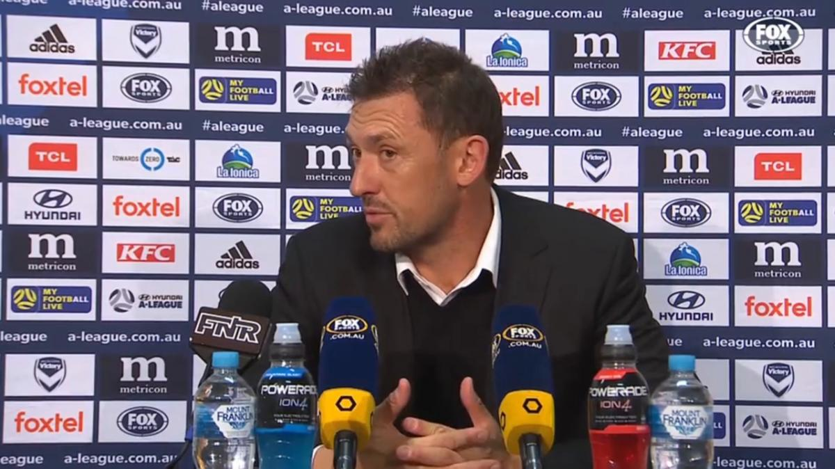 Popovic: It's not clicking in the final third | Press Conference | Hyundai A-League