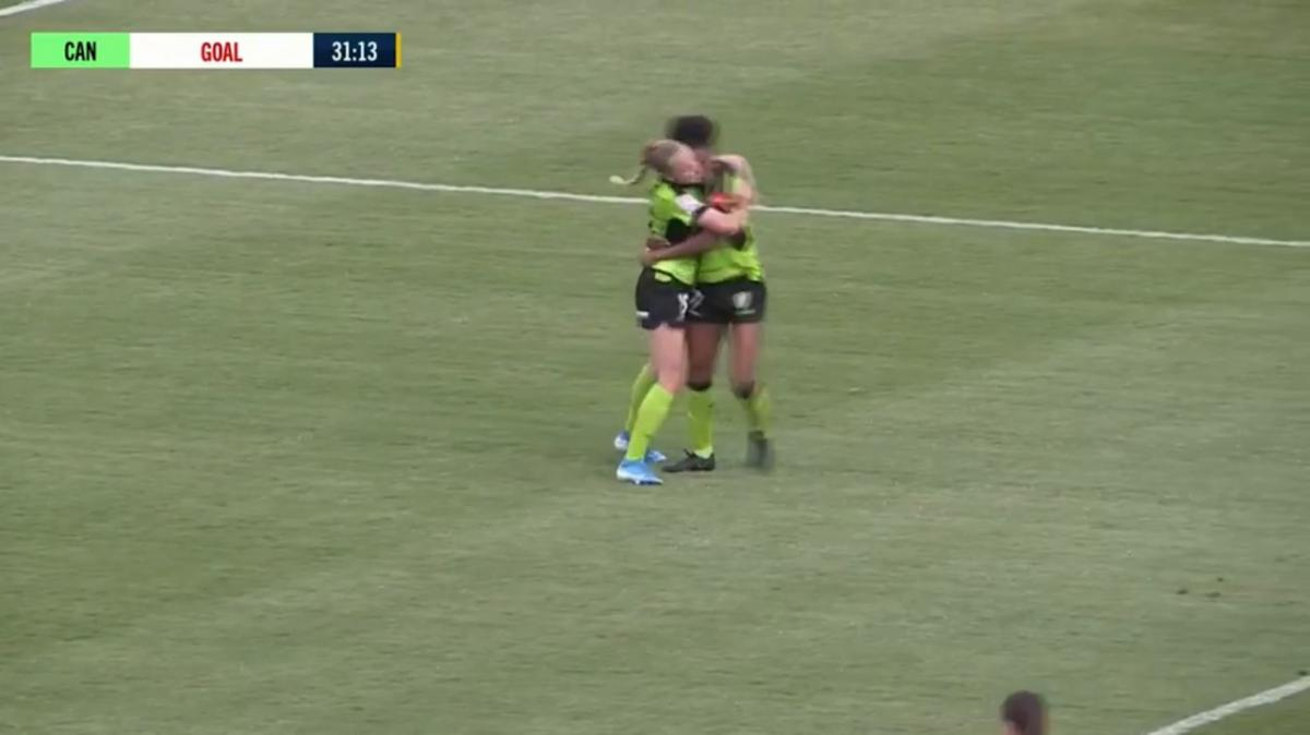 GOAL: Charley - Canberra double their lead