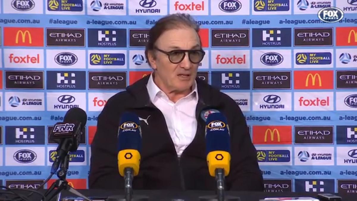 Mombaerts: The second goal made it difficult | Press Conference | Hyundai A-League