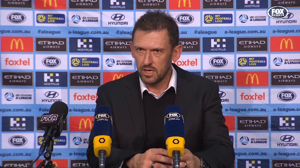 Popovic: Tonight was a good reward for the players | Press Conference | Hyundai A-League