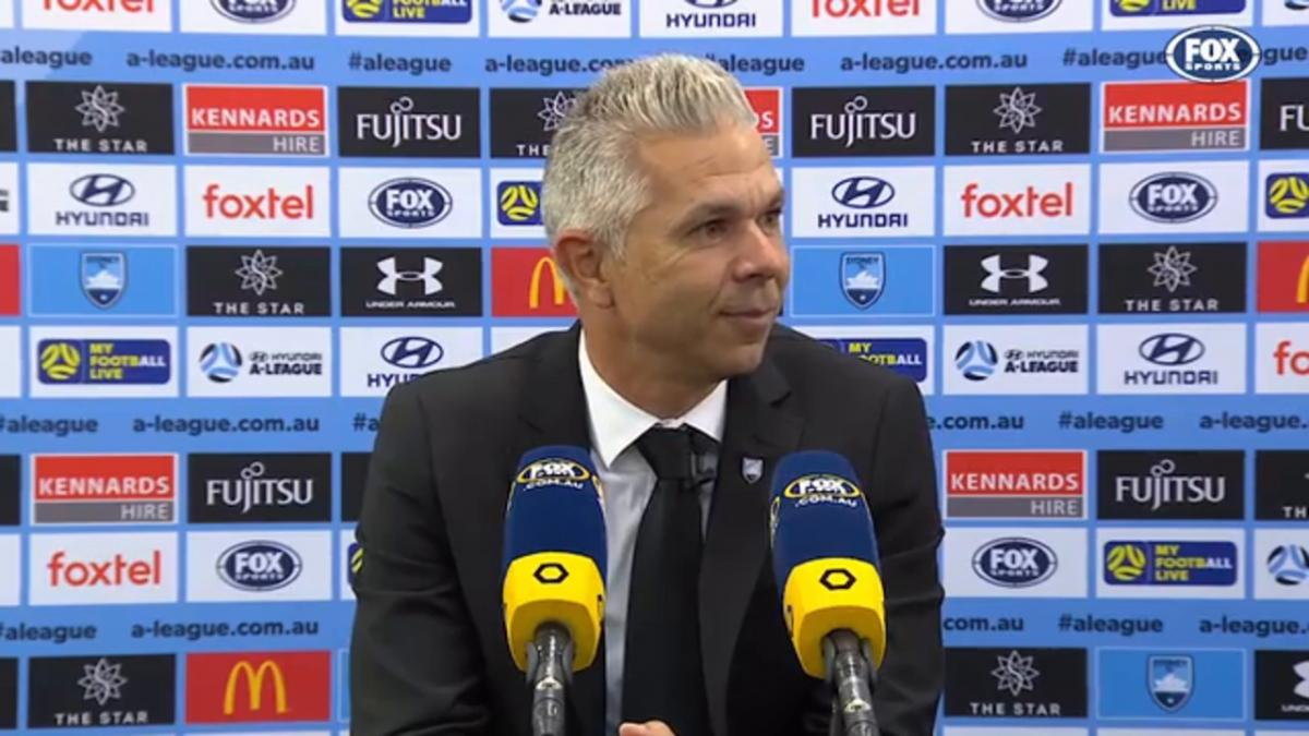 Corica: We can't get complacent | Press Conference | Hyundai A-League