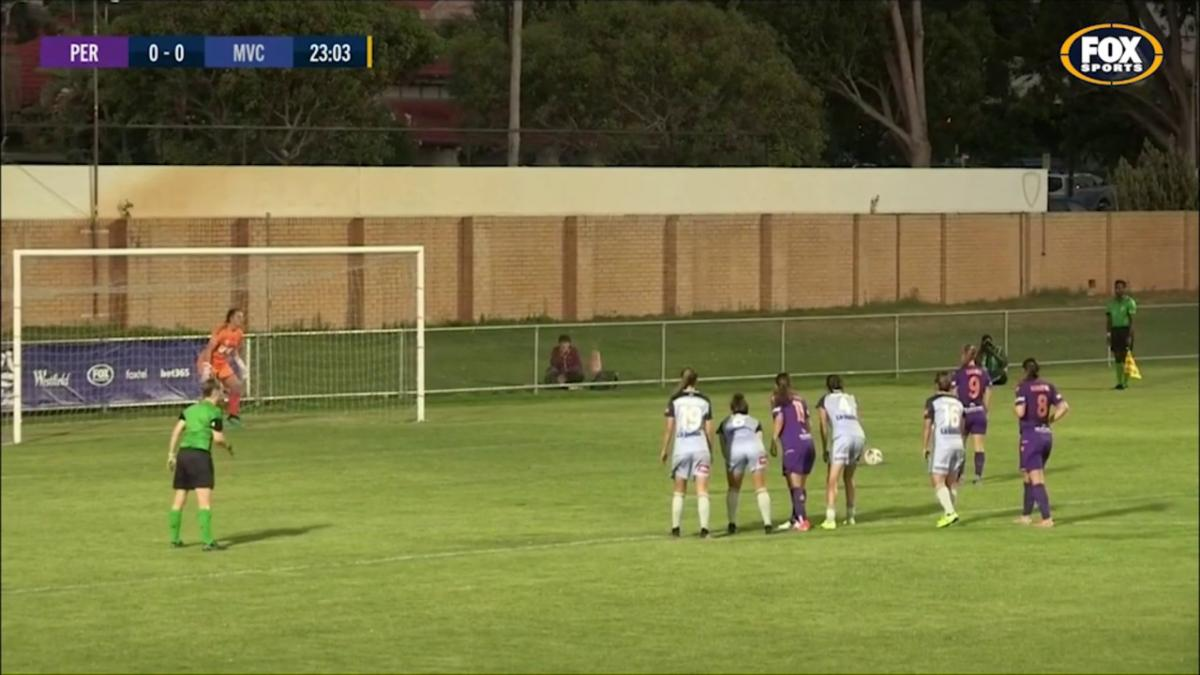 SAVE: Jenkins -Perth denied from a penalty