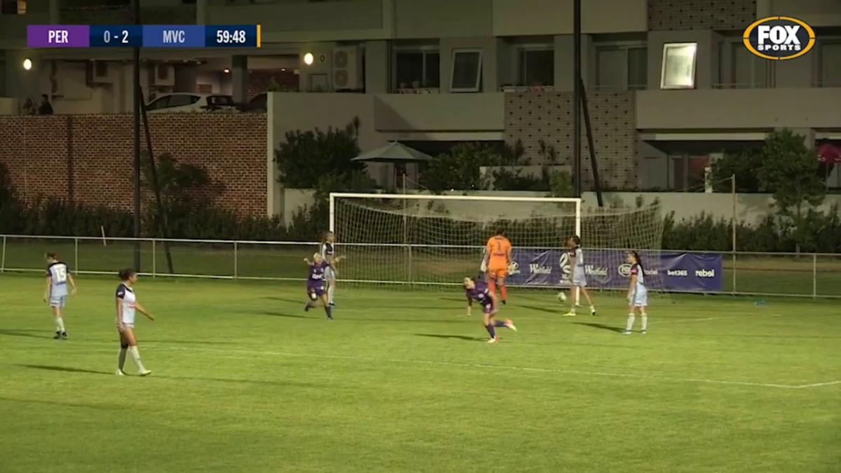 GOAL: MCKENNA - Perth pull one back