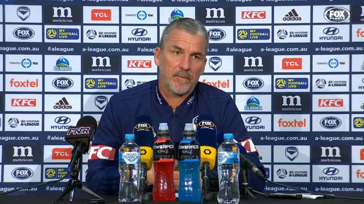 Kurz: Change of course doesn't change my mindset   Press Conference   Hyundai A-League