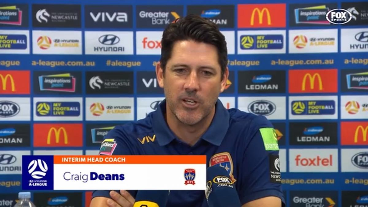 Deans: We need to defend better | Press Conference | Hyundai A-League