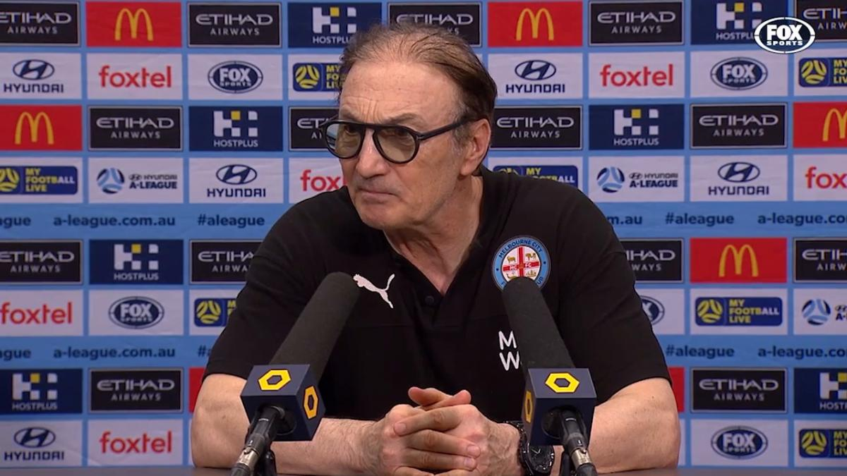 Mombaerts: I am happy for Nathaniel | Press Conference | Hyundai A-League