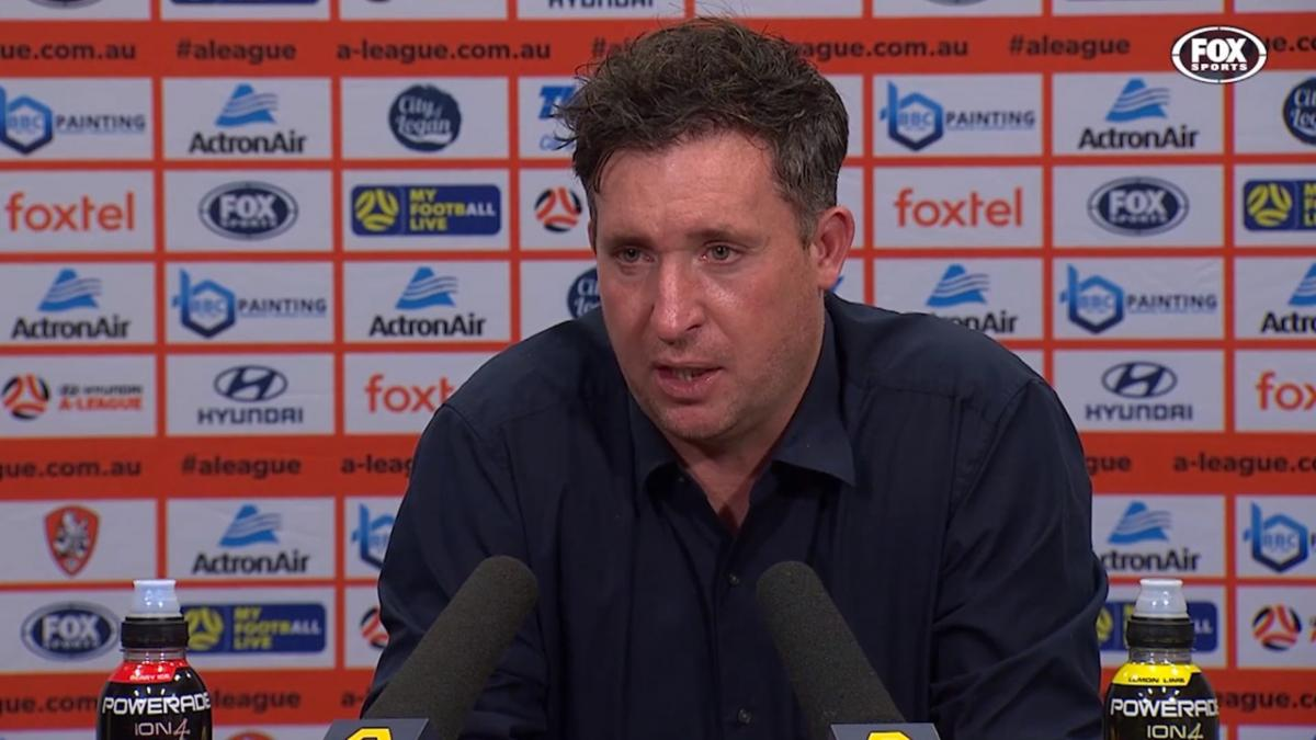 Fowler: We are big believers of Brad | Press Conference | Hyundai A-League