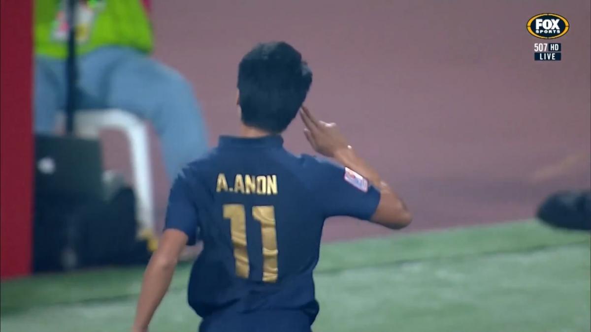 GOAL: Thailand lead inside half an hour