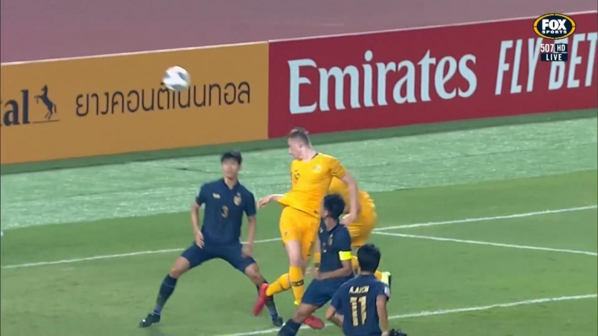 CHANCE: Bouman - D'Agostino almost turns provider for Olyroos