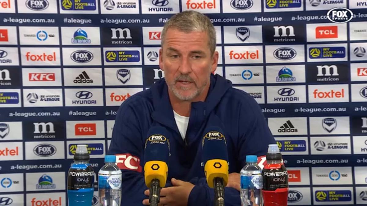 Kurz: The second penalty was the wrong call | Press Conference | Hyundai A-league