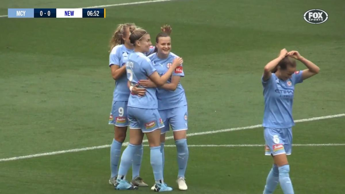 GOAL: Mijatovic opens the scoring early in Melbourne