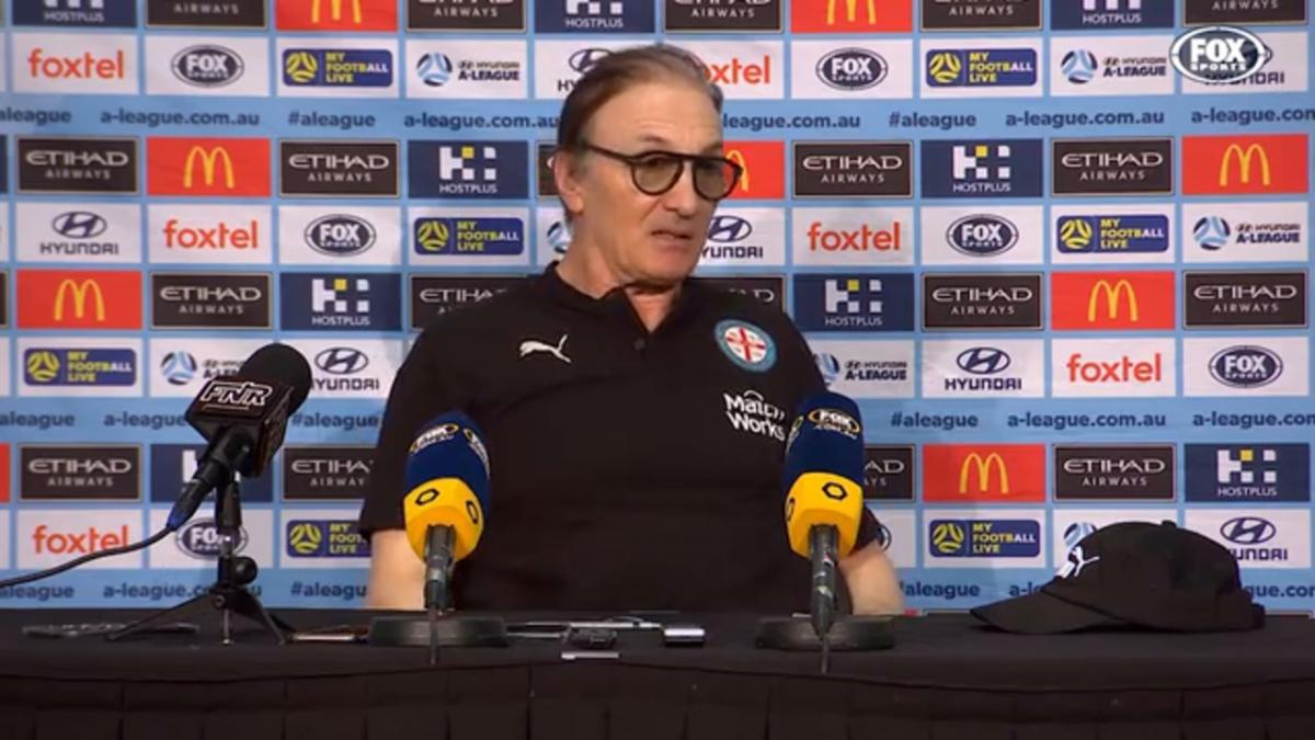 Mombaerts: Newcastle put up a good fight | Press Conference | Hyundai A-League