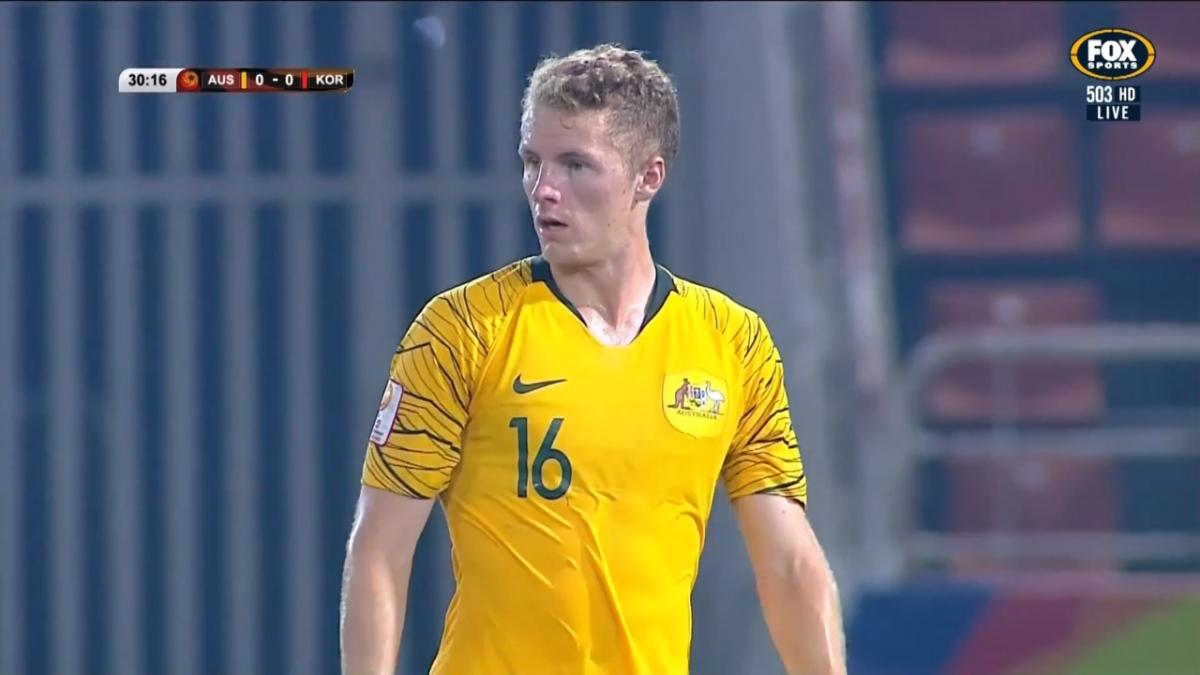 CHANCE: Buhagiar - Olyroos fail to convert in Korean goalmouth