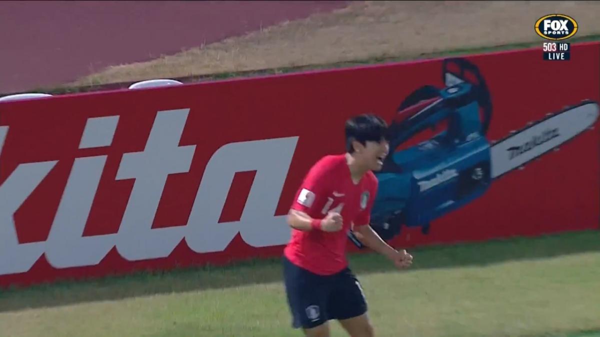 GOAL: Kim - Korea strike first in the semi final