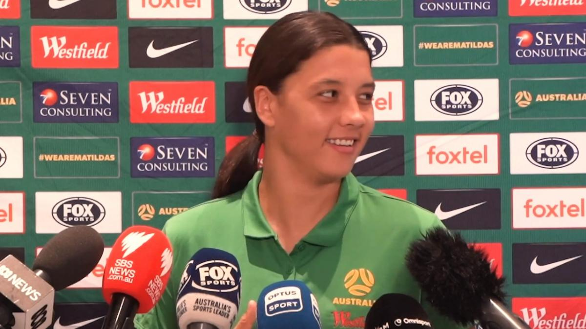 Sam Kerr press conference - pre Tokyo 2020 qualifiers