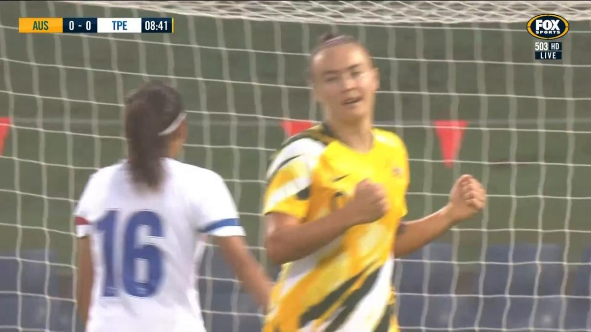 GOAL: Foord - Matildas strike early