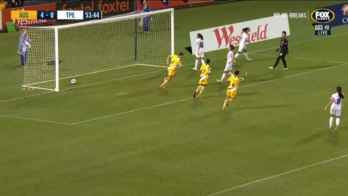 GOAL: Raso - Aussies break away for another