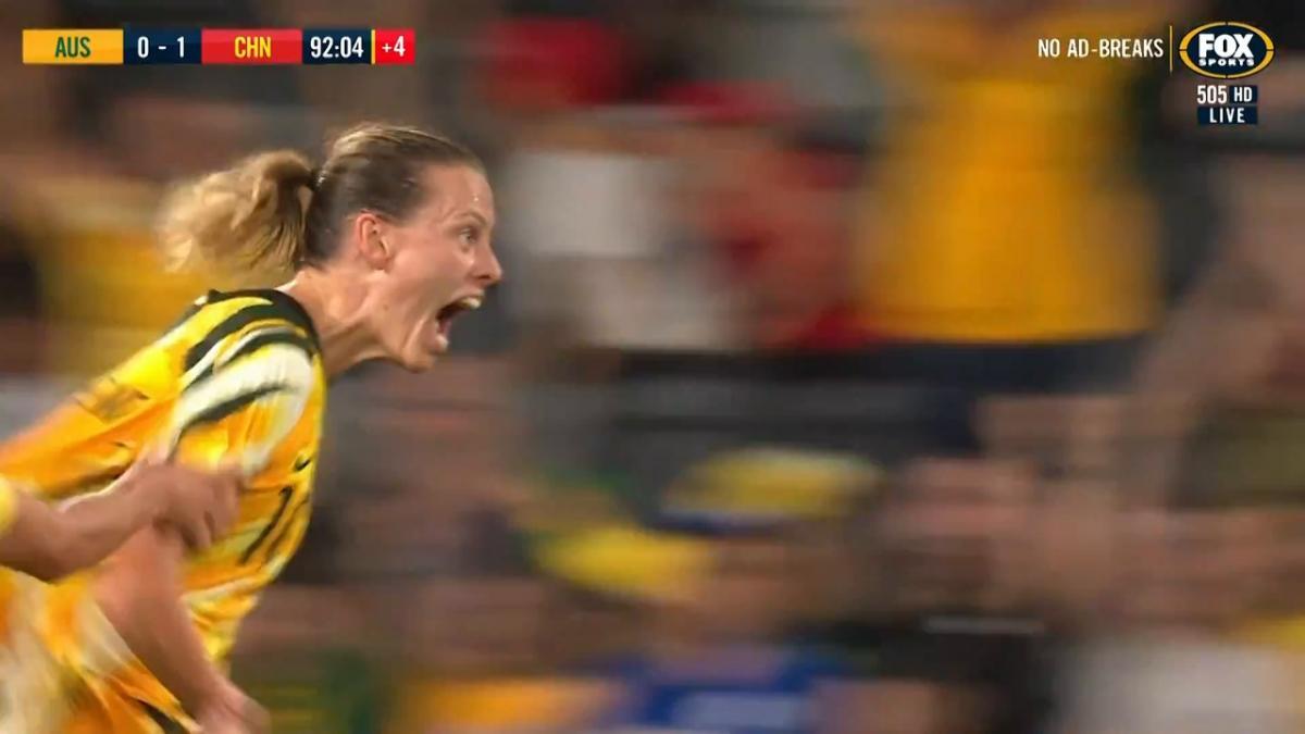 GOAL: van Egmond - Heroics in injury time from Emily